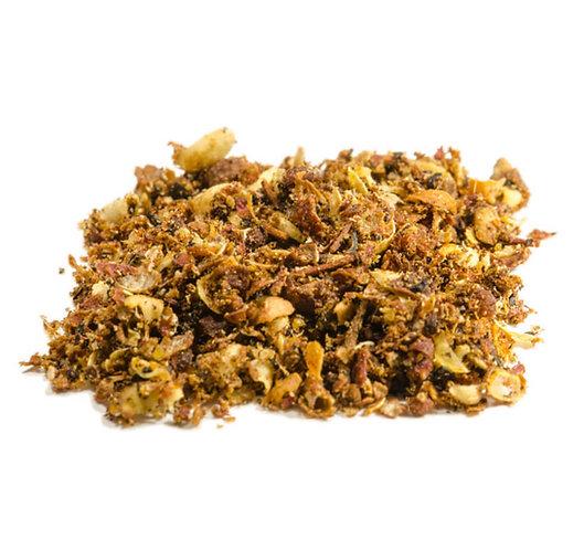 Szechuan-Pfeffer, Sichuan-Chin, Bergpfeffer, gemahlen, getrocknet
