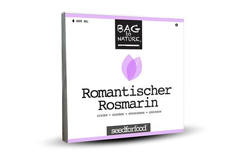 Romantischer Rosmarin - Bio Kräuter Bag, Vorderansicht
