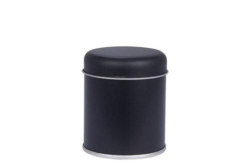 Gewürzdose schwarz mit Streueinsatz (Streudose 65)