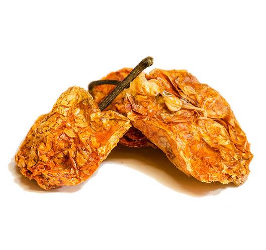 Habanero Chili, orange, ganz, getrocknet