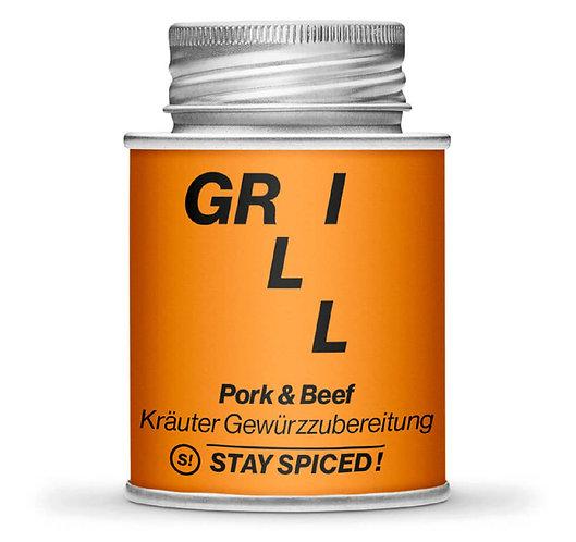 Pork & Beef - Herb spice Blend, Gewürzmischung, Grillgewürz, Pulver