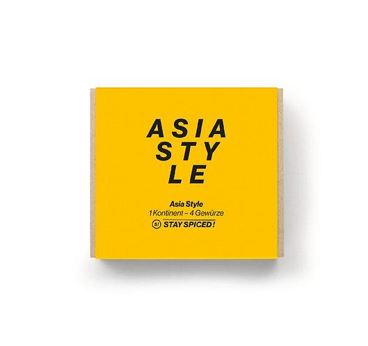 """Geschenkbox """"Asia Style"""" aus 4 ausgewählten Gewürzen"""