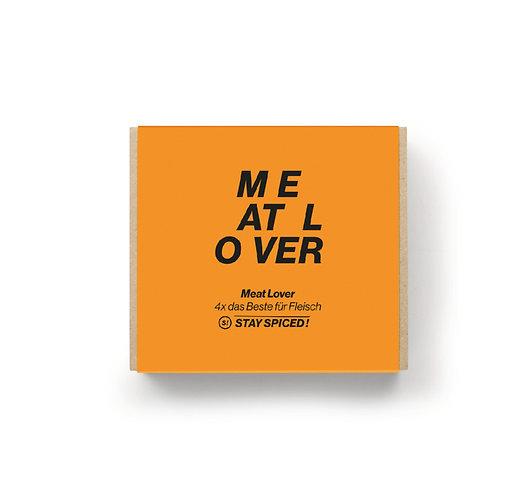 """Geschenkbox """"Meat Lover"""" aus 4 ausgewählten Gewürzen"""