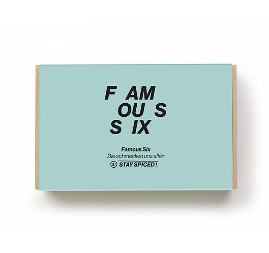 "Geschenkbox ""Famous Six"" aus 6 ausgewählten Produkten"