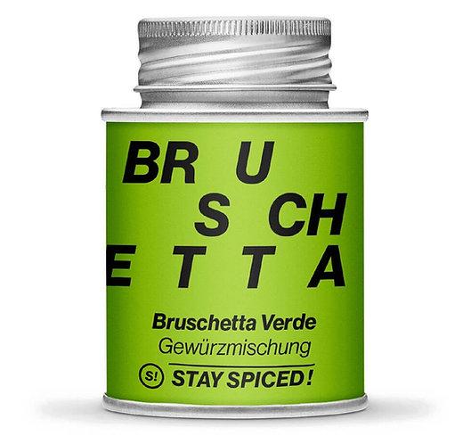 Bruschetta Verde, Gewürzmischung, mediterran, Pulver, Schraubdose, Vorderansicht