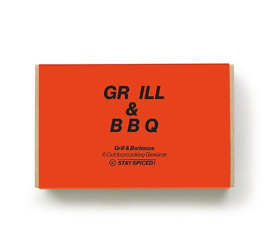 Grill Gewürze - Geschenkbox mit 6 Gewürzen