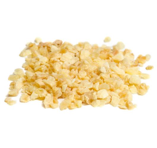 Knoblauchflakes, geschrotet 1-3mm, getrocknet
