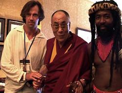 Me, Dalai Lama & John Sithole