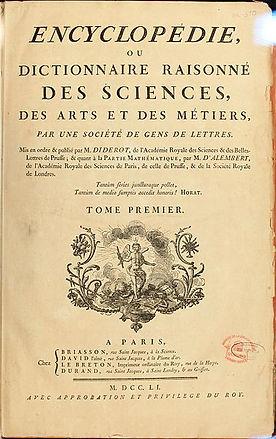 Encyclopédie de Diderot i D'Alembert