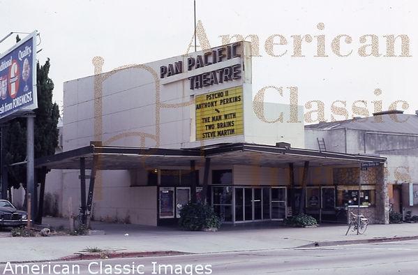 Pan Pacific July 1983 Los Angeles - Los