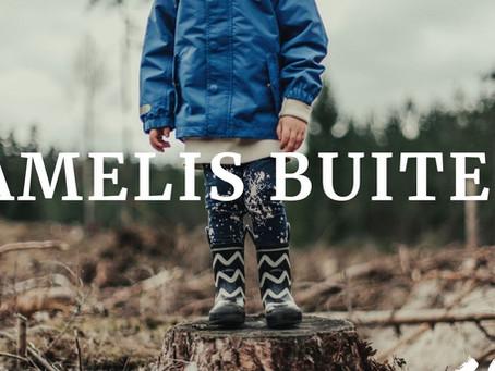 Mooi artikel over mijn werk in het bos bij Amelis Buiten