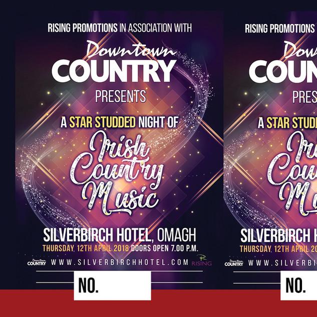 Irish Country Music Event Ticket 6th Feb
