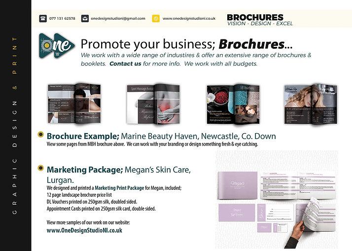 Brochures, beauty, hotels
