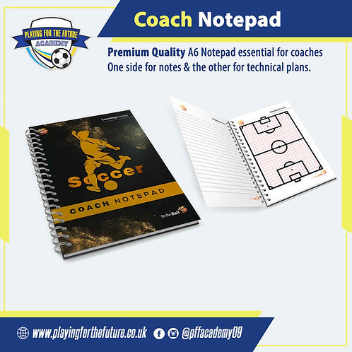 Coach Notepad