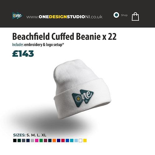 Beachfield Cuffed Beanie x 22