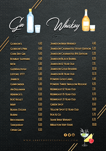 Graphic-design-drinks-menu-Abbey-Hotel-D