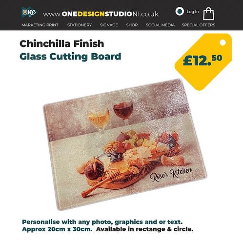 Chinchilla Glass Cutting Board