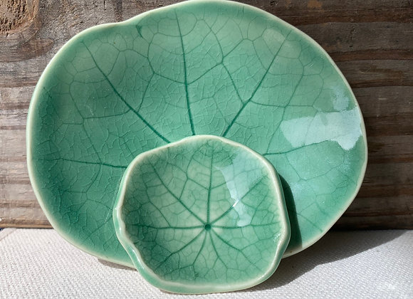 Lily Pad Jewelry Dishes