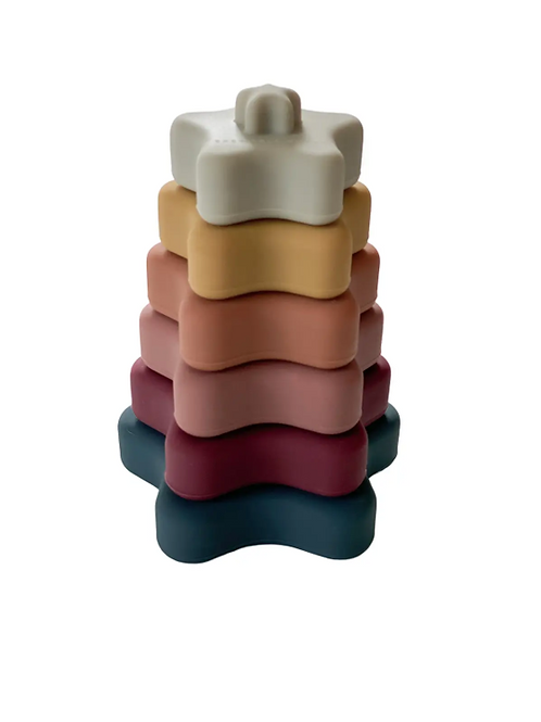 [Chewable Charm] Star Teether Stacker