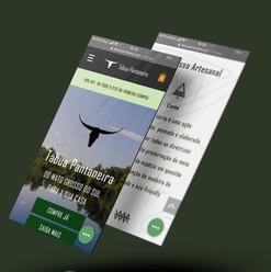 Site Tábua Pantaneira Mobile