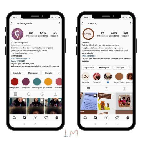 6 Contas do Instagram para quem produz conteúdo