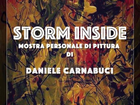STORM INSIDE, mostra personale di pittura di Vincenzo Daniele Carnabuci
