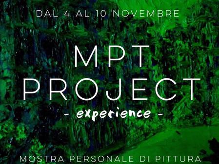 MPT Project - experience, mostra personale di pittura di Michele Principato Trosso