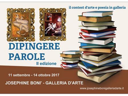 DIPINGERE PAROLE - seconda edizione