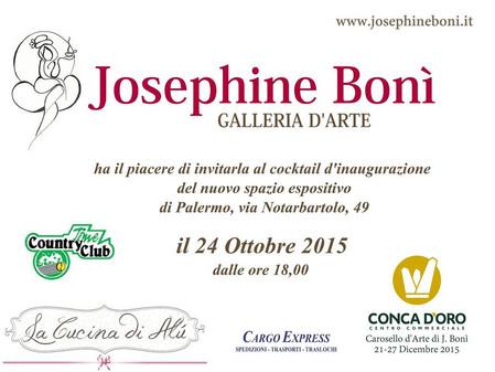 Josephine Bonì - Galleria d'Arte ... the Opening