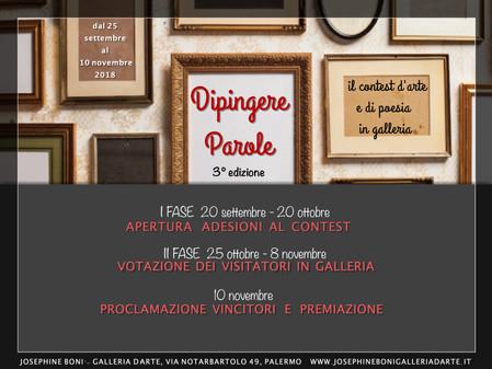 DIPINGERE PAROLE III edizione