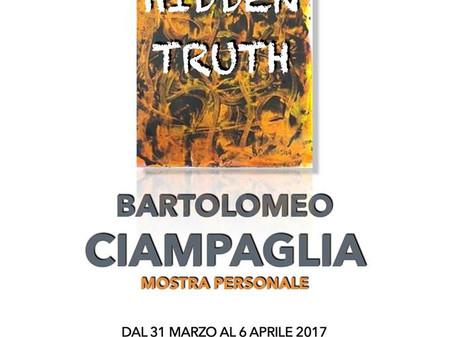 HIDDEN TRUTH, mostra personale di pittura di Bartolomeo Ciampaglia