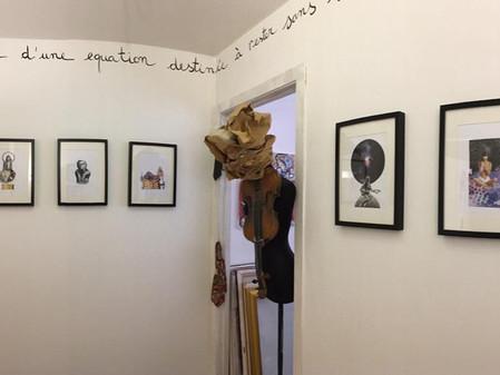 IN COLLA VERITAS, mostra personale di collage di Demetrio Di Grado