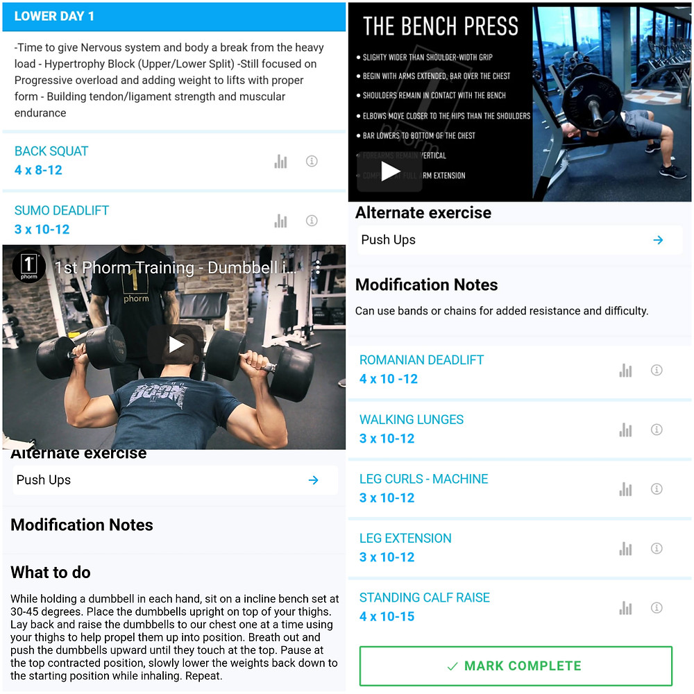 gym workout leg day
