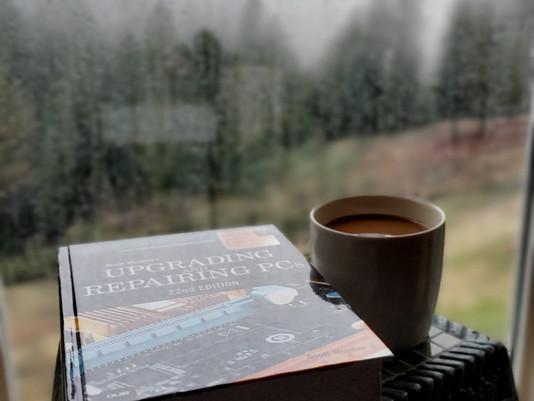 A perfect 🌧 rainy Saturday