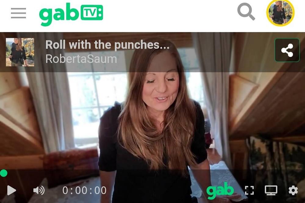 Roberta Saum on Gab TV April 2021