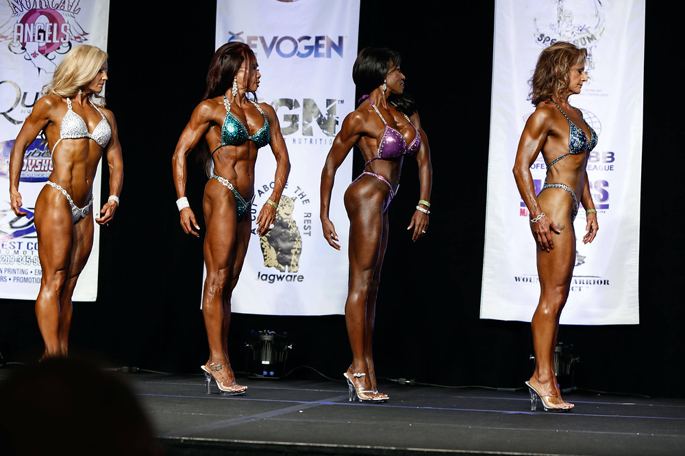 master class figure fitness competition