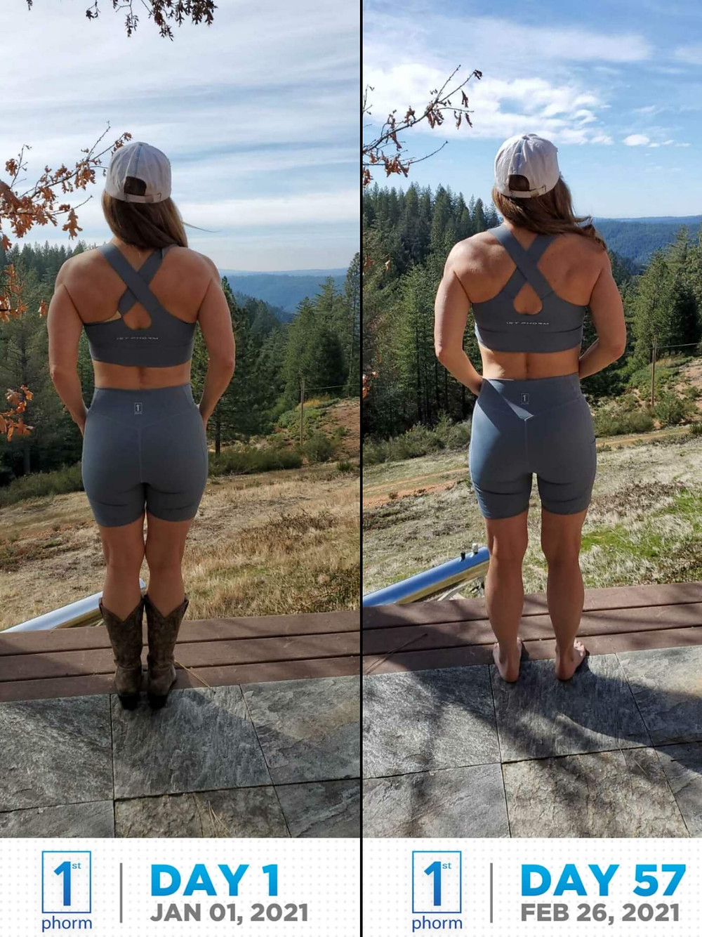 back body progress