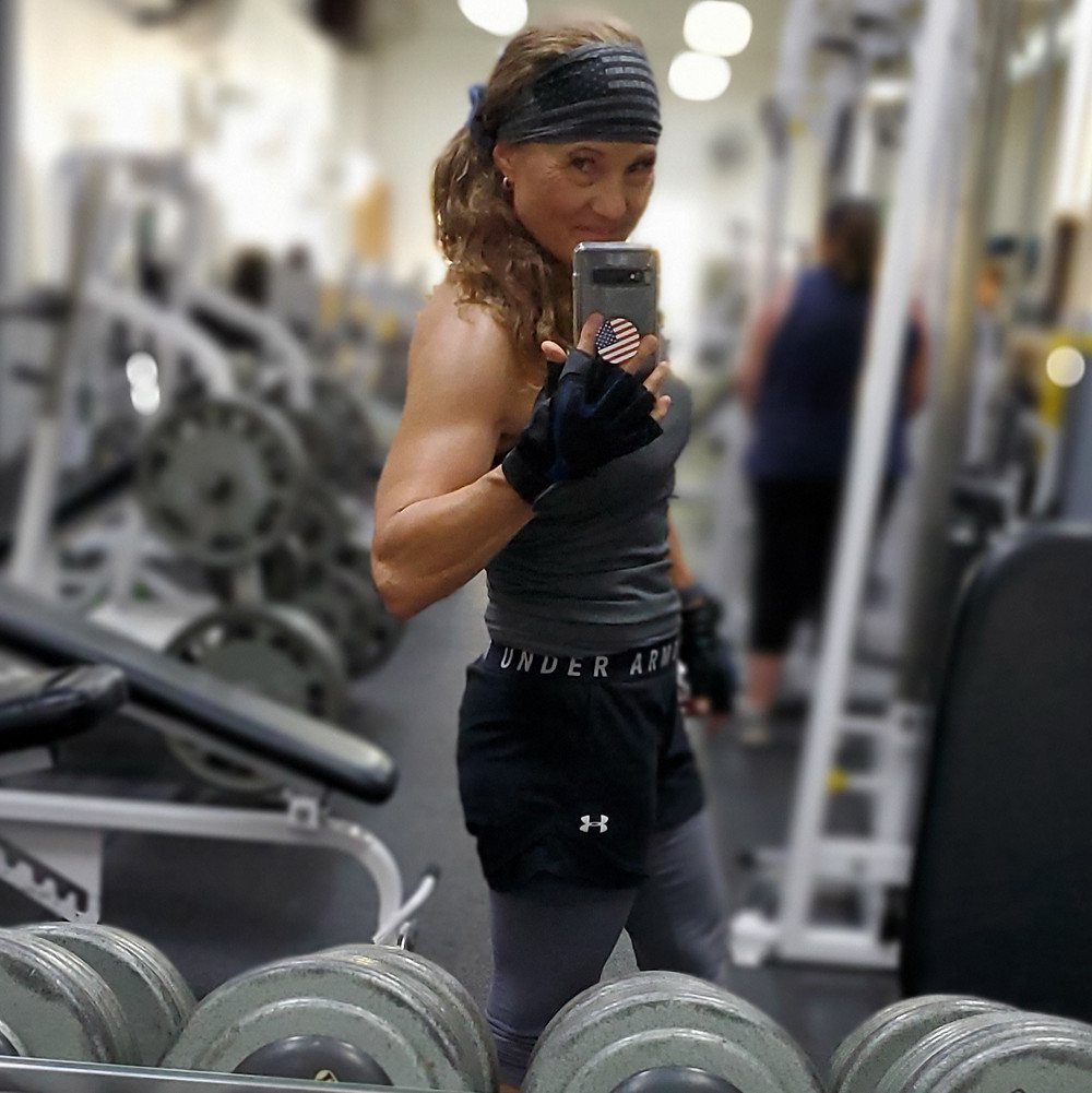 60 year old Fitness trainer female
