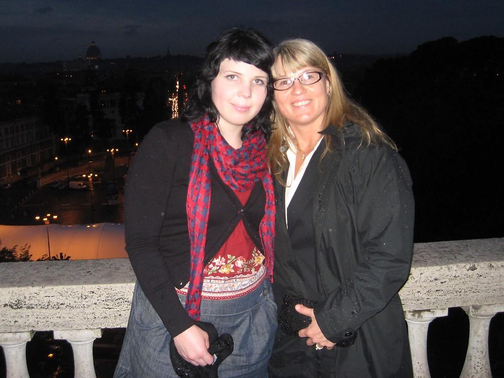 Sara and Mom-Roberta Rome Italy