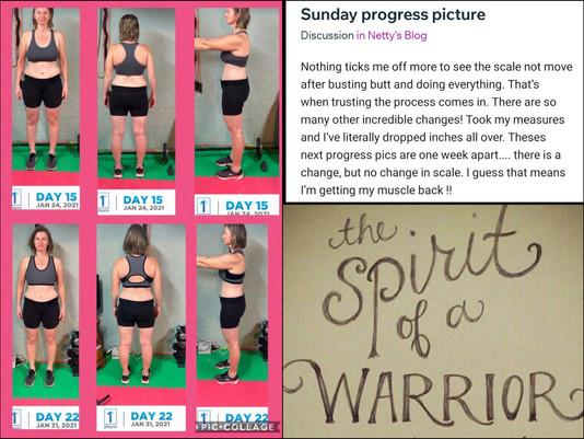 Spotlighting the weight loss warrior Netty