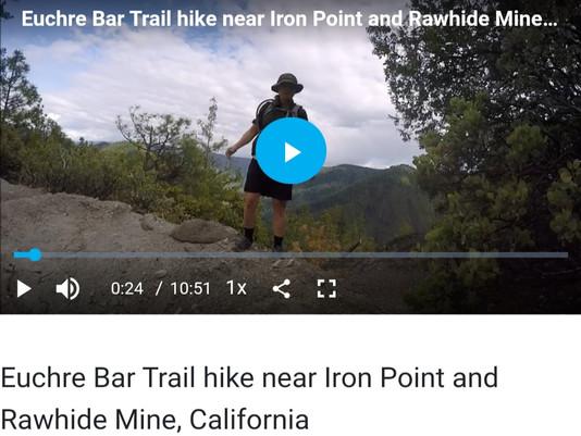 Update on Jenia and Euchre Bar Trail Hike
