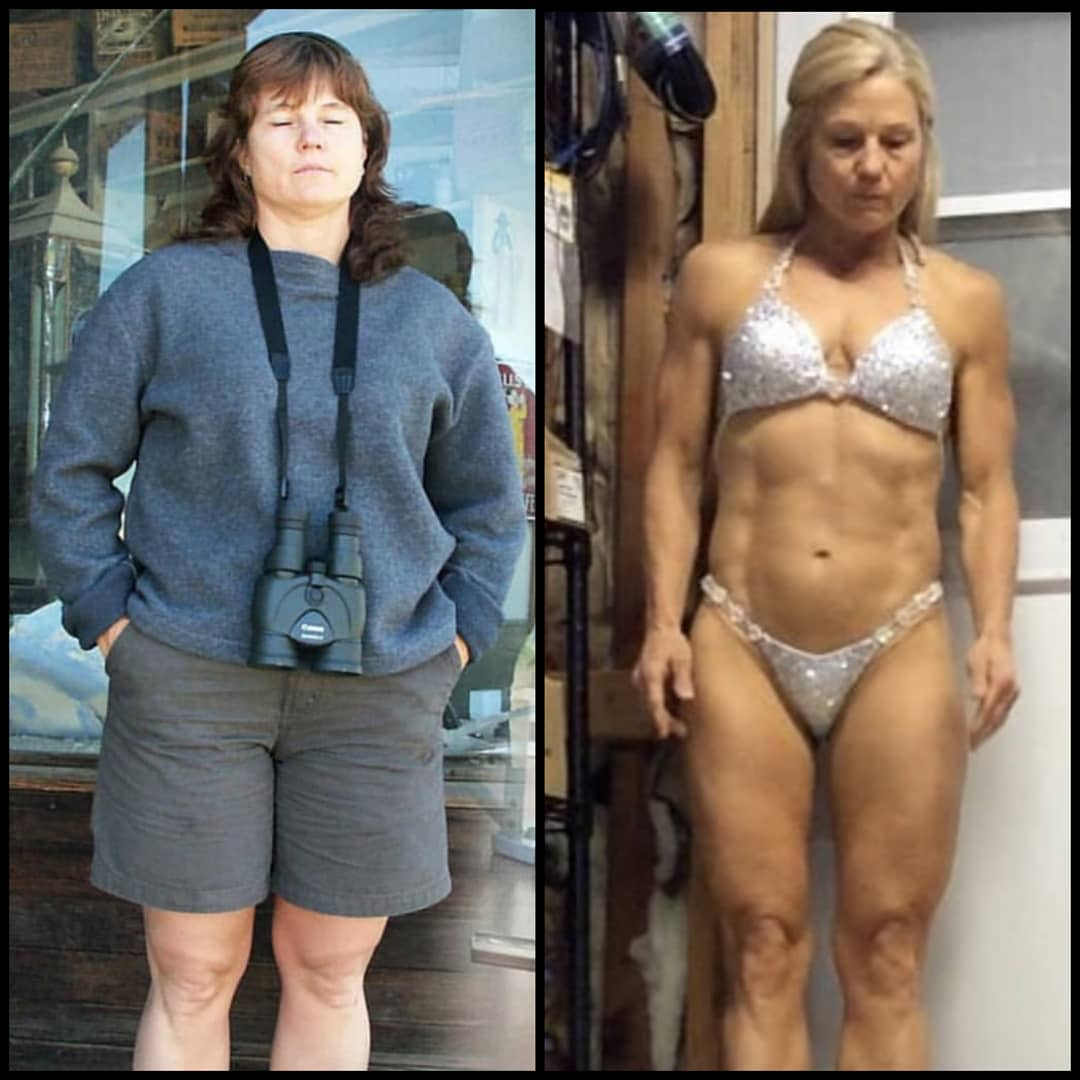 Roberta age 50 weight loss transformatio
