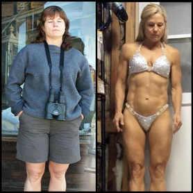 Roberta age 50 weight loss transformatio