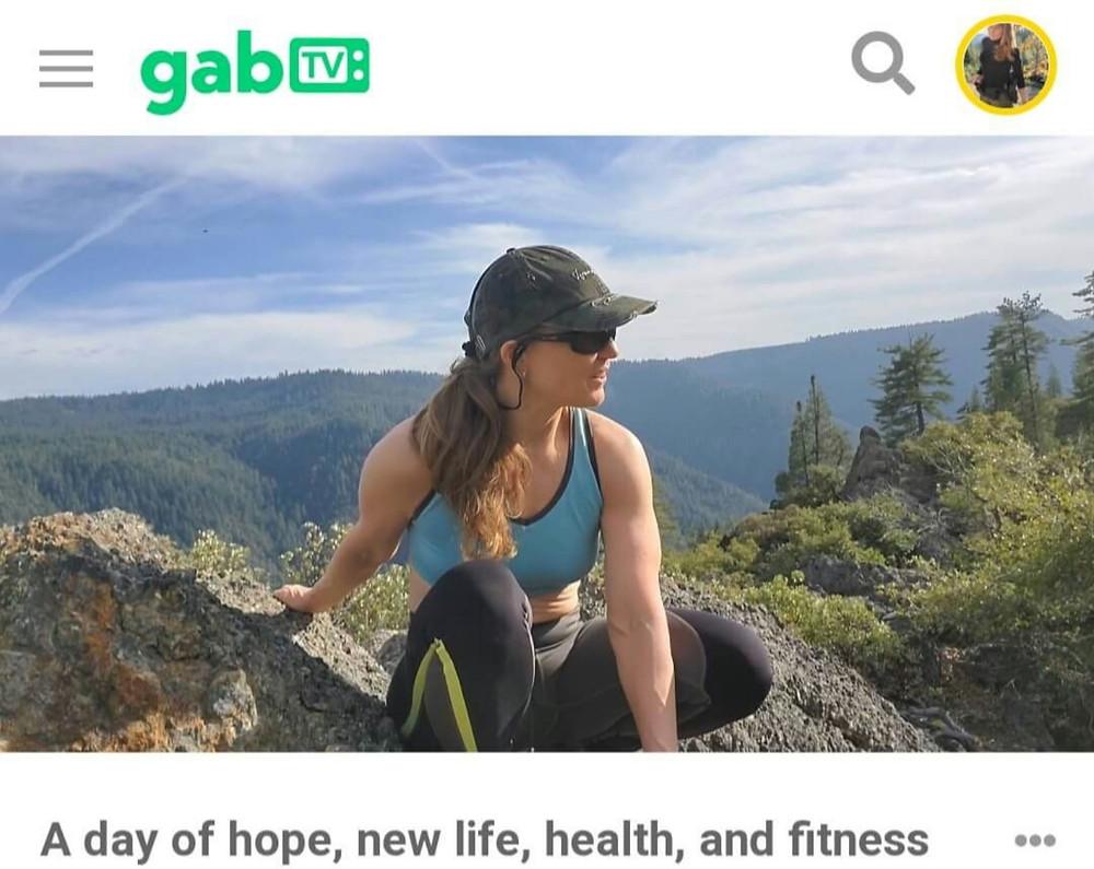 Gab TV Iron Point Bike Ride Roberta Saum
