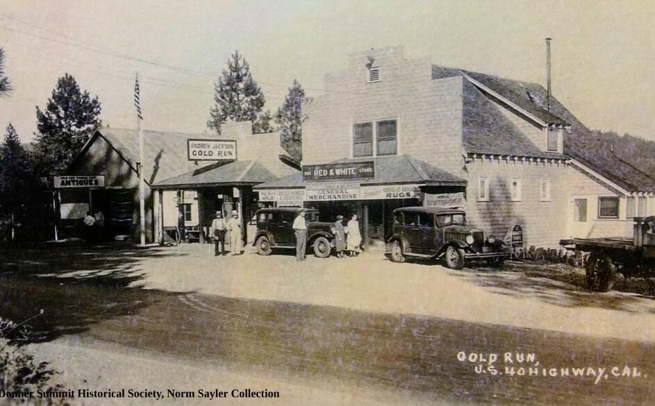 historic gold run california