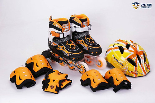 Kit Patines V5 Orange