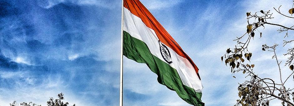 India Flag Delhi