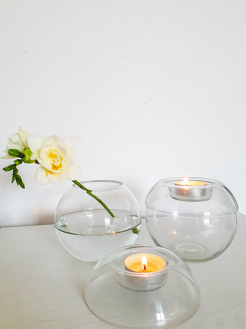 ASTRA Jar with Tea Light Holder