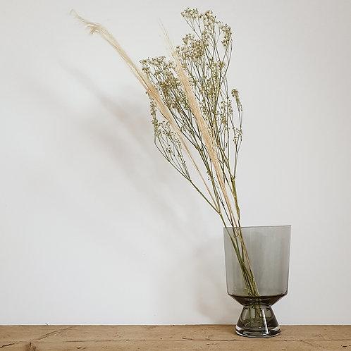 HI Glass Vase