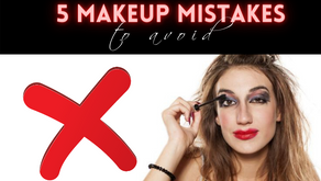 5 Makeup Mistakes to Avoid